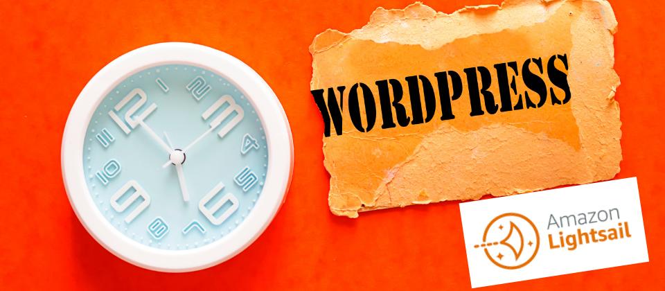 wordpress lightsail